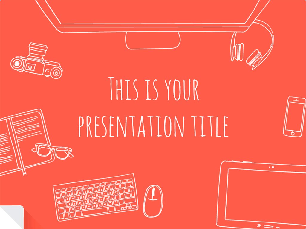 Template Presentation Red