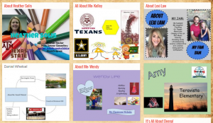 All About Me Padlet