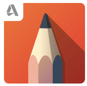 autodesk sketchbook app icon