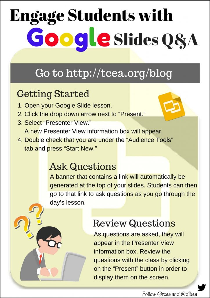 engage students with google slides q a tcea blog