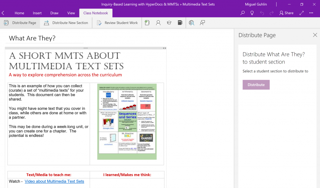 hypernotes use hyperdocs with ms office 365 tcea blog
