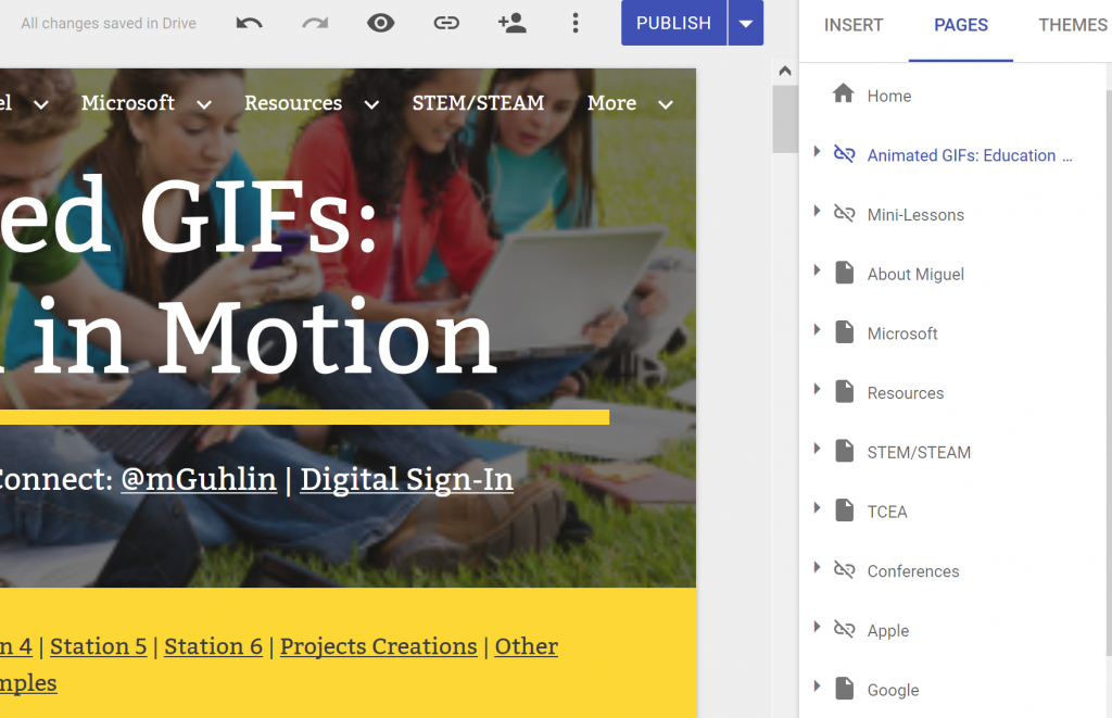 new google sites