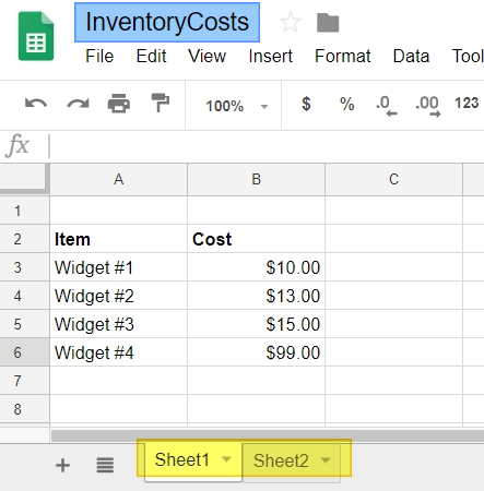 Exploring Google Sheets' Functions: Import Range • TechNotes Blog