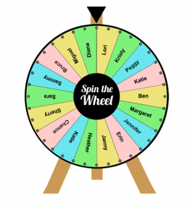 Random Name Picker Spinner