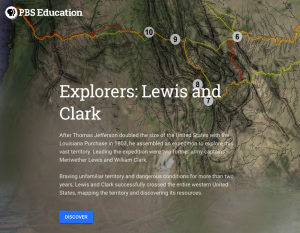 google earth lewis and clark