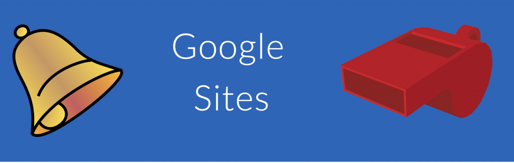 Google Sites Bells and Whistles