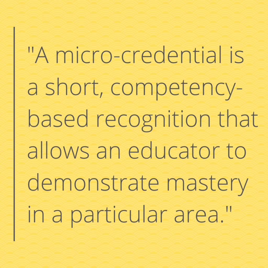 micro-credential